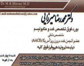 دکترمحمدرضامیرزایی